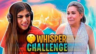 Whisper Challenge | Andrea VS Su mamá