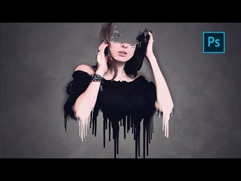 Paint Drip Effect | Photoshop Tutorial | Photo effects