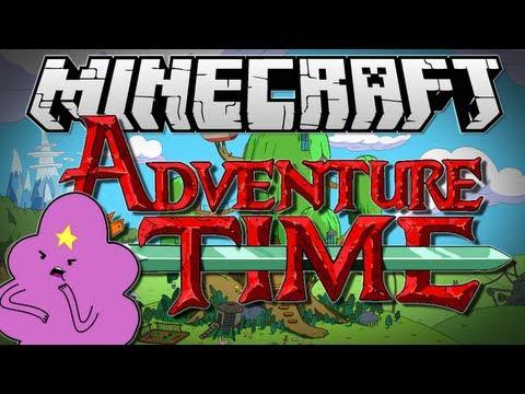 Minecraft | ADVENTURE TIME! (Lumpy Space!) #2 | Adventure Map [1.6.2]