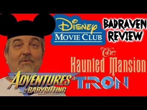 Disney Movie Club Unboxing