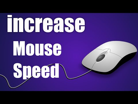 How to speed up mouse in laptop and desktop