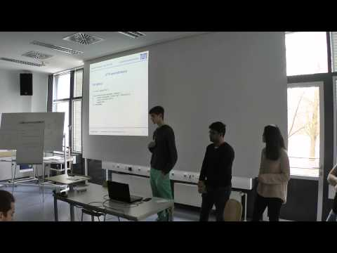 JavaScript Seminar - Server side JavaScript with Node.js basics and Project B, Group 6