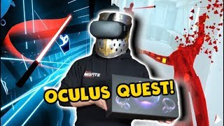 ENHANCING REALITY WITH OCULUS QUEST