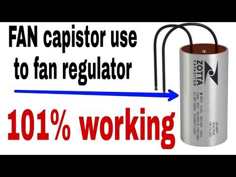 Fan capistor use to FAN regulator