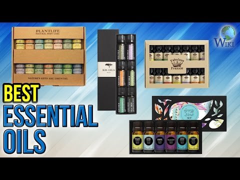 10 Best Essential Oils 2017