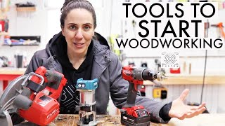 What Tools Do You Need to START Woodworking? Beginner Woodworking Tool List