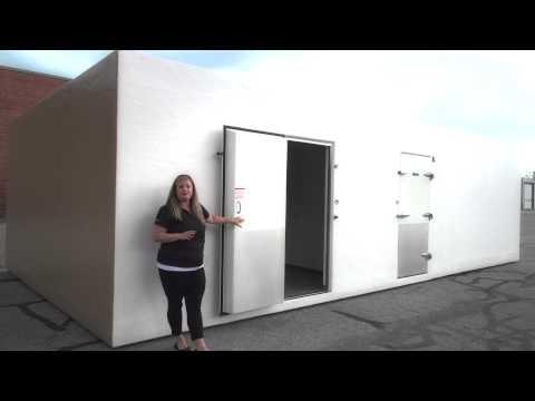 Polar King | Outdoor Walk In Cooler Freezer Combo for Berlin Area School District