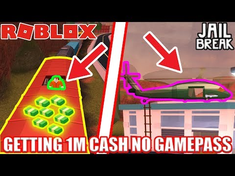 Getting 1 MILLION Jailbreak cash WITHOUT GAMEPASSES! | Roblox Jailbreak No Gamepass Grind pt 1