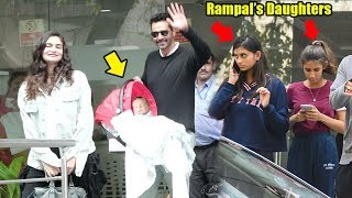 Arjun Rampal's Family FINALLY Accepts NewBorn BabyBoy frm Gf Gabriela@Hospital-Daughters Myra,Mahika
