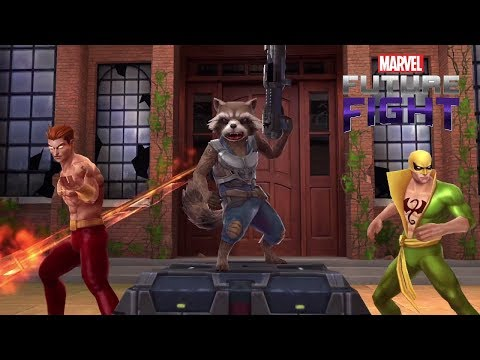 Marvel Future Fight Part 89 - Rocket Raccoon and Hellstrom to Tier 2