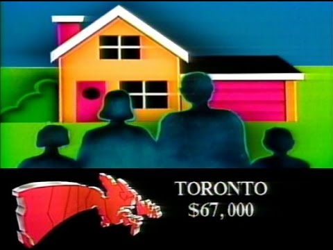 Toronto house prices go through the roof in 1988