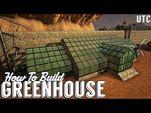 Large Greenhouse :: Ark Survival Evolved How To Build