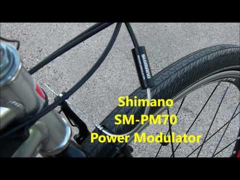 BULLSHIT or BARGAIN? Shimano SM PM70 bike bicycle v brake power modulator noodle review