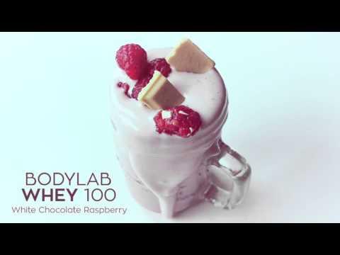 Bodylab // proteinpowder // Whey 100 White Chocolate Raspberry