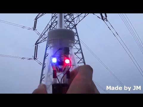 High Voltage Detector (Electrostatic Polarity Detector with increased sensitivity)