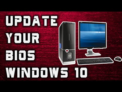 How To Update Your Bios - Windows 10 (Every Computer) 2016!