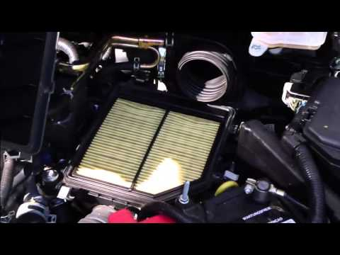 How to replace Air filter Honda Civic. Years 2006-2011.
