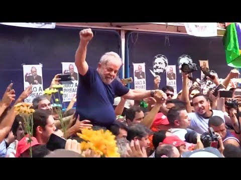 Glenn Greenwald: Brazil's Right Wing Jailed Ex-President Lula Because They Couldn't Win at the Polls