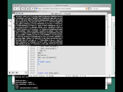 SQL on Rails