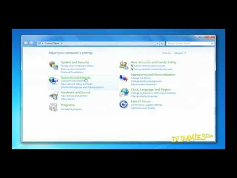 How to Connect to the Internet with Windows 7 For Dummies
