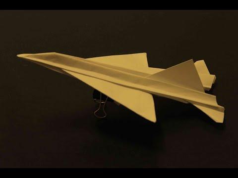Como hacer un Avion de Papel que Vuela Mucho - Aviones de Papel | Origami Avión