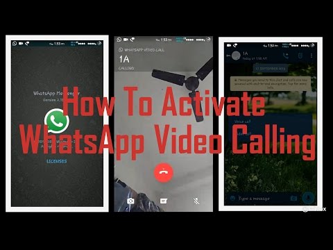 How to Activate Video Calling On WhatsApp Officially via Playstore