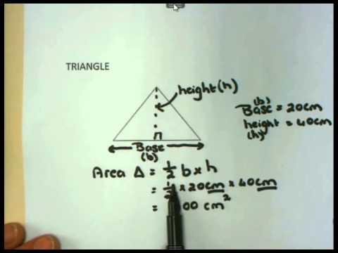 Maths lit Basics - Gr12 - Calculating Area
