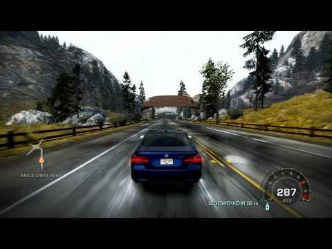 NFS Hot Pursuit BMW M3 Drift and Drive