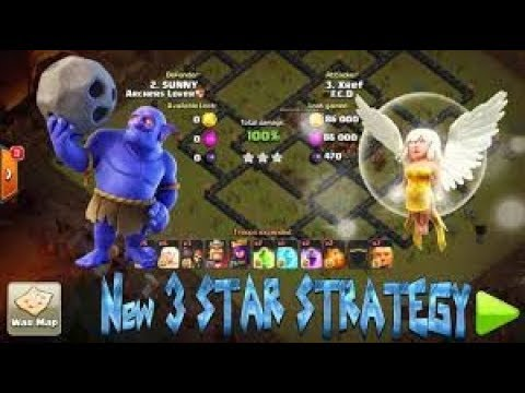 TH9 3 stars on TH10!? | Archer Queen walk with laloon | war goes insane!!