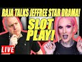 Raja Talks His Thoughts About Jeffree Star 😍 During Surprise Sunday Slot Play 🎰