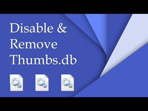 Disable And Remove Thumbs.db Files In Windows [4K]