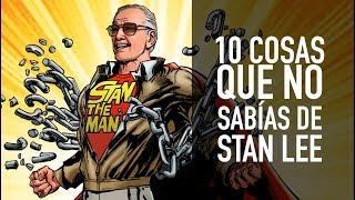 10 Cosas Que No Sabias De Stan Lee