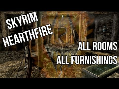 Skyrim Hearthfire: All Rooms and Furnishings Complete