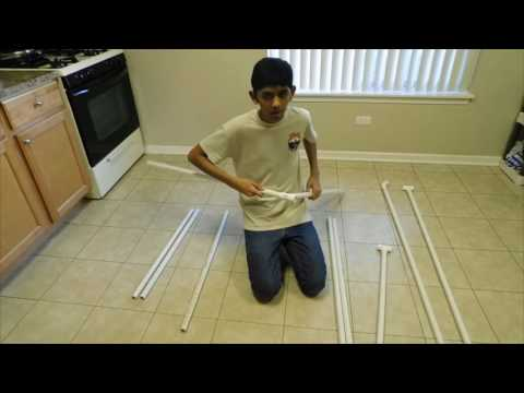 How To Make A DIY PVC Pipe Photo Booth. Easy. Portable. Fun.