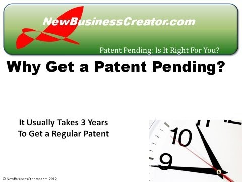 Using a Patent Pending to Protect Your Rights to New Inventions