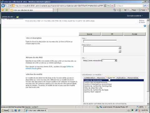 Assistant de Configuration de la Ferme SharePoint 2010