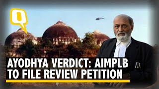 AIMPLB Addresses Media on Ayodhya Verdict