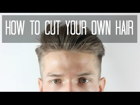 How To Cut Your Own Hair || Taper Cut || Men's Hairstyles