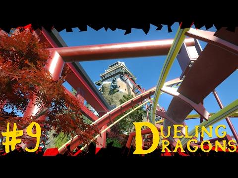 Dueling Dragons | Japanese Planet Coaster Timelapse! #9 [Seasons]