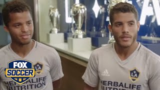 For Gio and Jonathan dos Santos, playing together in LA is a