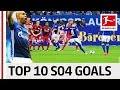 FC Schalke 04 Best Goals Season 2017/18 - Goretzka, Naldo & More