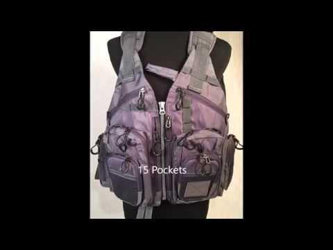Fly Fishing Vest Mesh Adjustable
