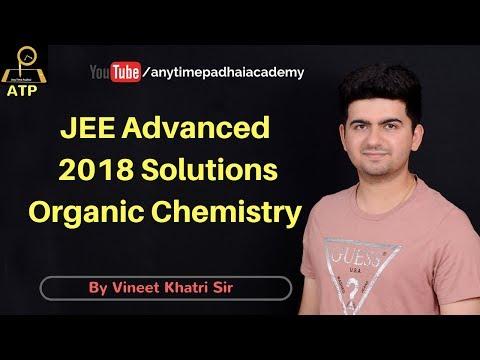 JEE Advanced 2018 Solutions - Organic Chemistry