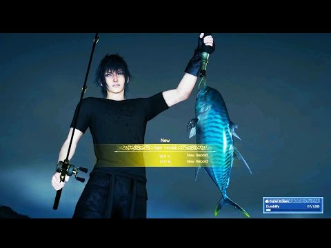 Final Fantasy XV Catch Your 1st Big Fish