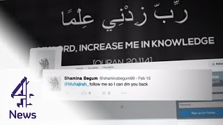 How Islamic State uses social media to attract female recruits | Channel 4 News