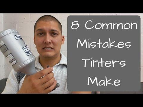 Window Tinting: 8 Common Mistakes Tinters Make