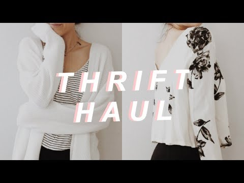 How to Save Money on Clothes (Thrift Haul + Free Glasses!)