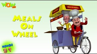 Meals On Wheels - Motu Patlu in Hindi - ENGLISH, SPANISH & FRENCH SUBTITLES! - 3D Animation Cartoon