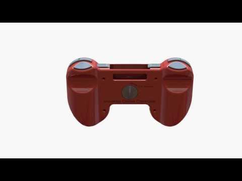 Universal Game Controller Alternative Cartridge Eject Design