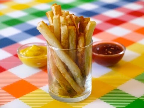 Healthy Snack Ideas for Kids: How to Make Oven Baked Fries - Weelicious